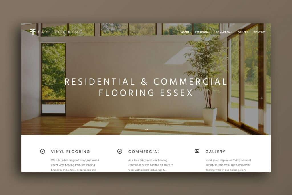Fay Flooring Web Design Seo Essex